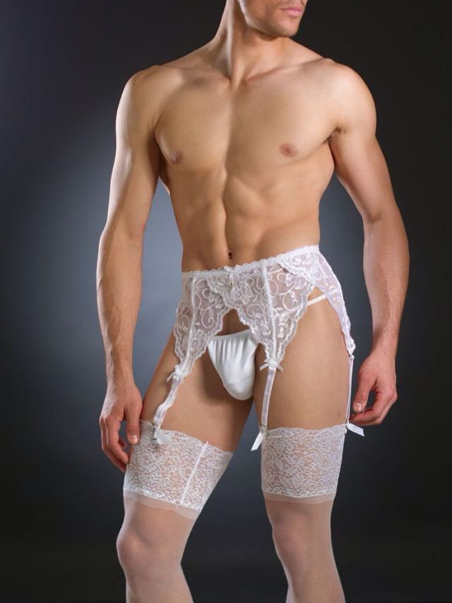 men in lingerie