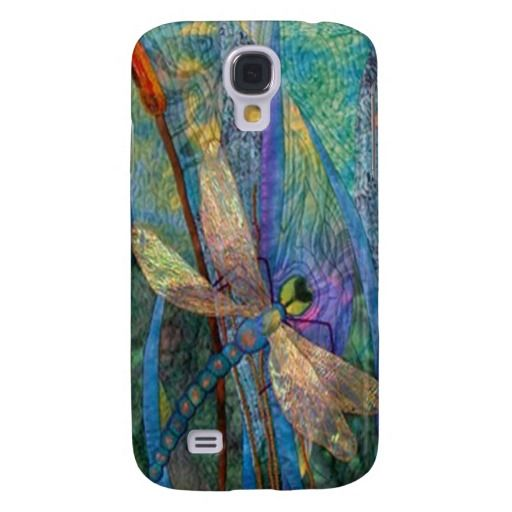 Colorful Dragonflies Samsung Galaxy S4 Case
