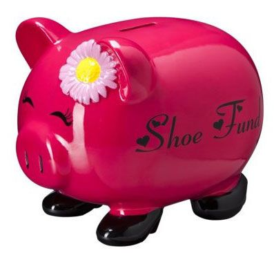 Save for a good reason! Pink Piggy Bank....
