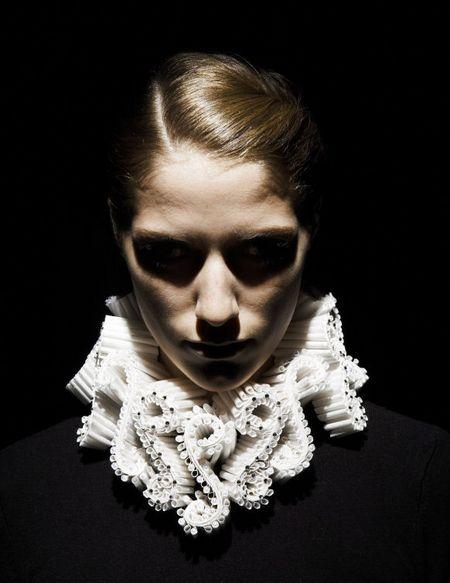 3D textile designer Katherine Wardropper