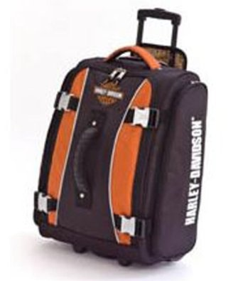 "Harley-Davidson® 21"" Hybrid Casual Upright Luggage Duffle Bag Suitcase  #harley davidson#luggage#duffle bag"