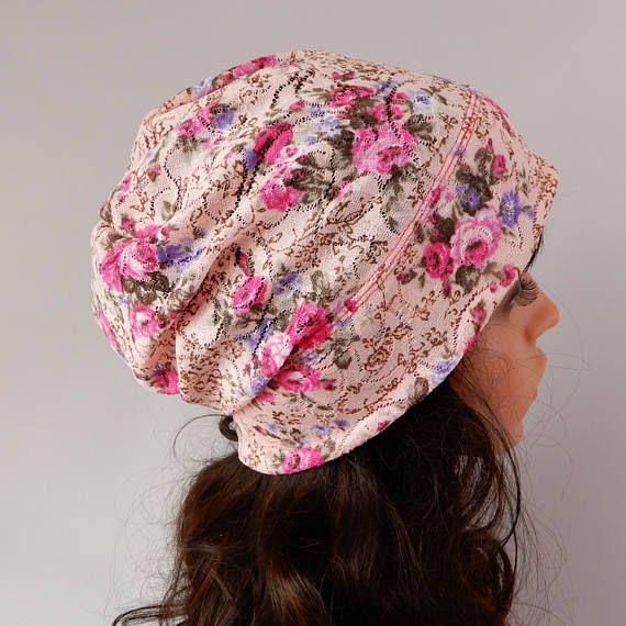 Lightweigt summer beanie hat Lace hat women Thin beanie hat