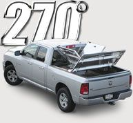 Choose the truck bed cover - DiamondBack 270 truck bed cover