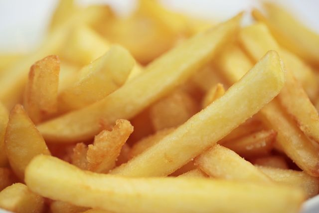 Beware of the very tempting golden french fries in fast food chains and even restaurants! Some fast food French fries are safe ... but sadly, most are not. Getty Images/susan.k. Oh my, this constant temptation