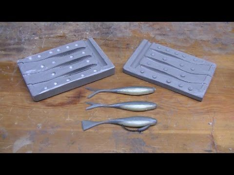 Make your own lures mold cast custom lures using for Ice fishing jig molds