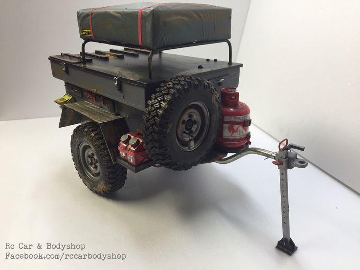 1:10 scale off-road trailer. facebook.com/RCcarbodyshop ...