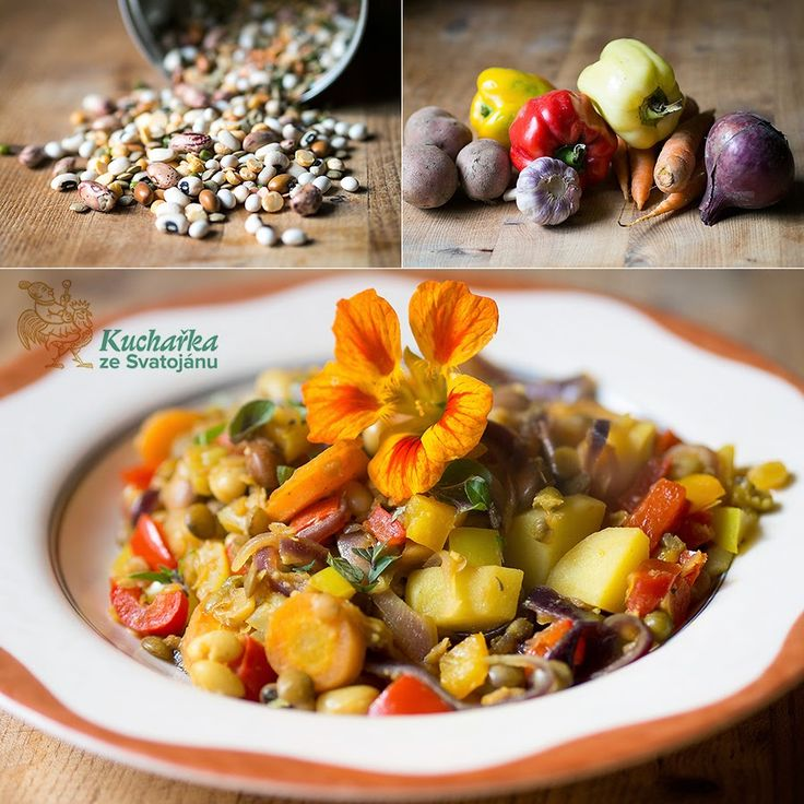 Luštěninová směs se zeleninou