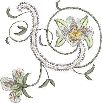 Sue Box Creations | Download Embroidery Designs | 24 - Azalea 1