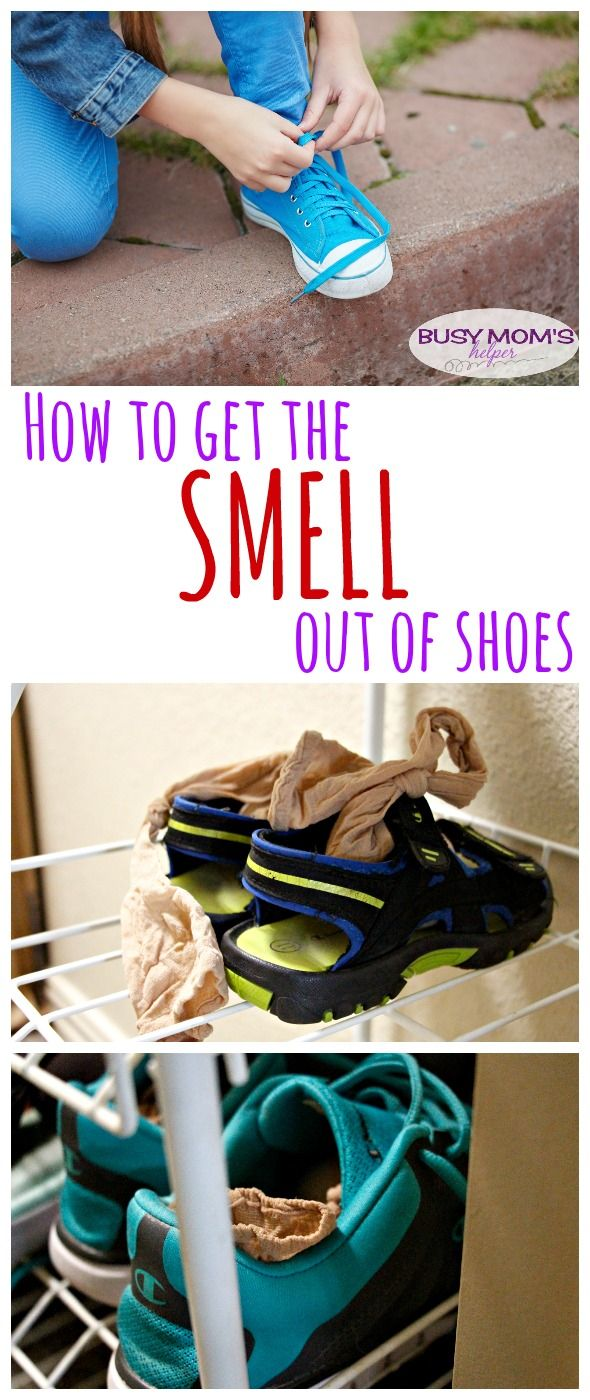 Get rid of the stinky shoe smell!
