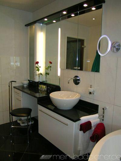 27 besten Beleuchtung im Bad Bilder auf Pinterest Badezimmer - ideen kleine bader fliesen