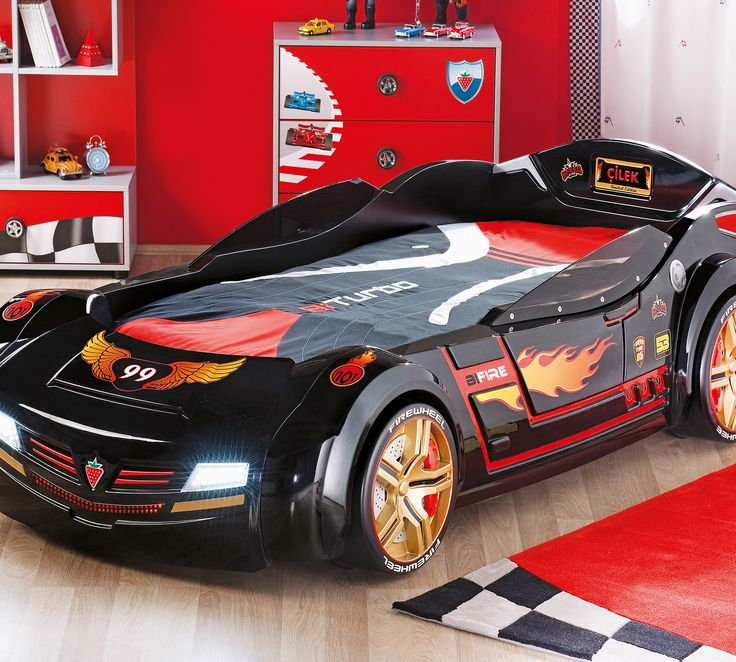 Black Car Bed