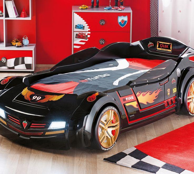 Black Car Bed