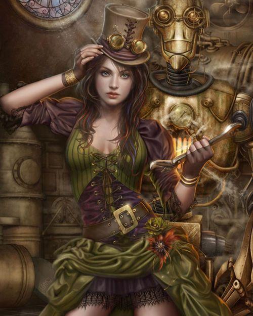 Outstanding Steampunk Inspiration #1 / nenuno creative on imgfave