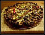 Koolhydraatarme bamitaart. Een heerlijke bamitaart maar dan zonder de mie en het bladerdeeg. Glutenvrij en lactosevrij, daarnaast koolhydraatarm voor elke fase. Wil je een vegetarische versie maken, gebruik dan blokjes tofu of vegetarisch gehakt. Een portie bevat, ondanks... #avondeten #chinees #ei