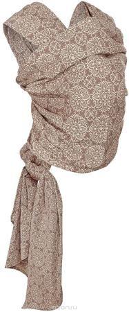 """Mum's Era Слинг-шарф Блум цвет серо-коричневый  — 3507р. ------- Слинг-шарф Mum's Era """"Блум"""" можно использовать с рождения малыша. Слинг-шарф - замечательный помощник для молодой мамы: освобождает руки, создает близкий контакт с малышом, позволяет покормить незаметно для окружающих, прекрасно успокаивает и усыпляет малыша. Это удобная, безопасная и универсальная переноска для детей, она имеет множество положений, что позволяет выбрать то, что подойдет именно вам! Слинг-шарф выполнен из 100%…"""