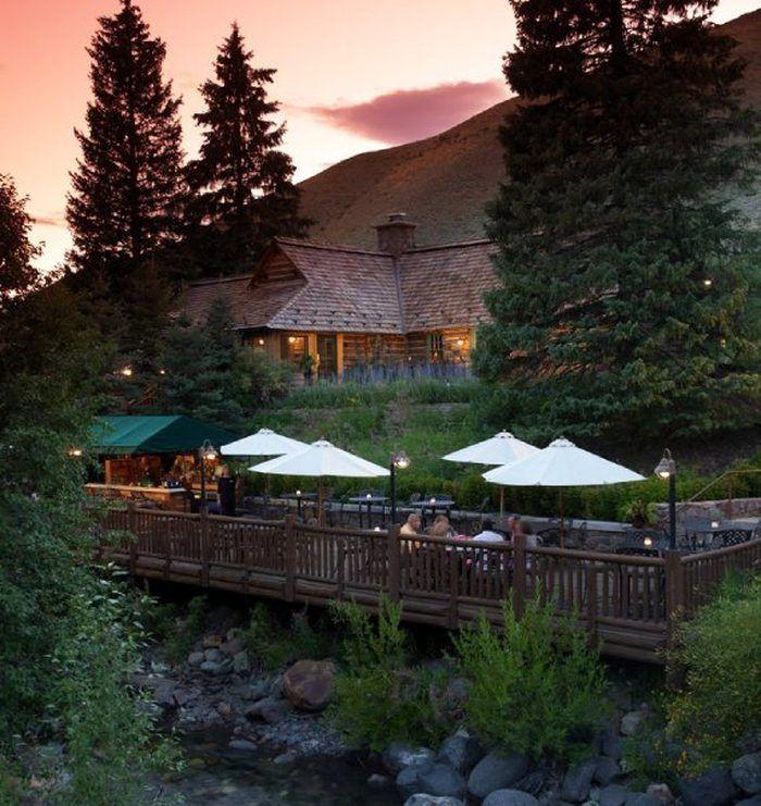 The Secluded Restaurant In Idaho With The Most Magical Surroundings Idaho Vacation Idaho Travel Sun Valley Idaho