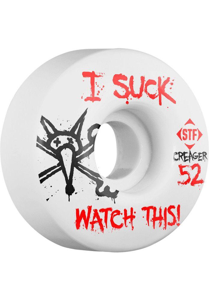 Bones-Wheels STF-Creager-I-Suck-V3 - titus-shop.com #Wheel #Skateboard #titus #titusskateshop