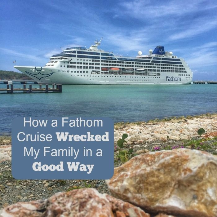 Find out what happens when a cruise ship focuses on impact travel