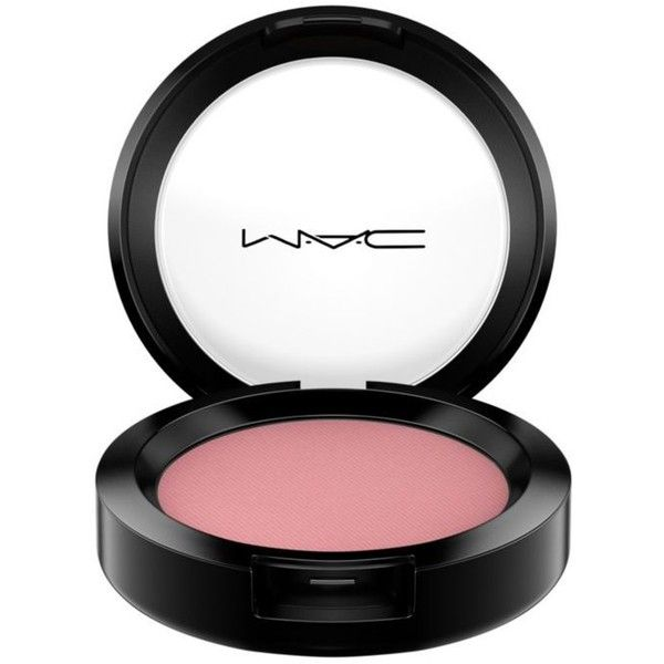 Mac Mocha Matte Powder Blush (£18) ❤ liked on Polyvore featuring beauty products, makeup, cheek makeup, blush, powder blush and mac cosmetics