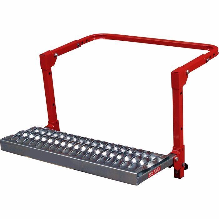 300lbs Step Up Folding Adjustable Ladder Non Slip Platform Truck SUV Tire Wheel #unbranded