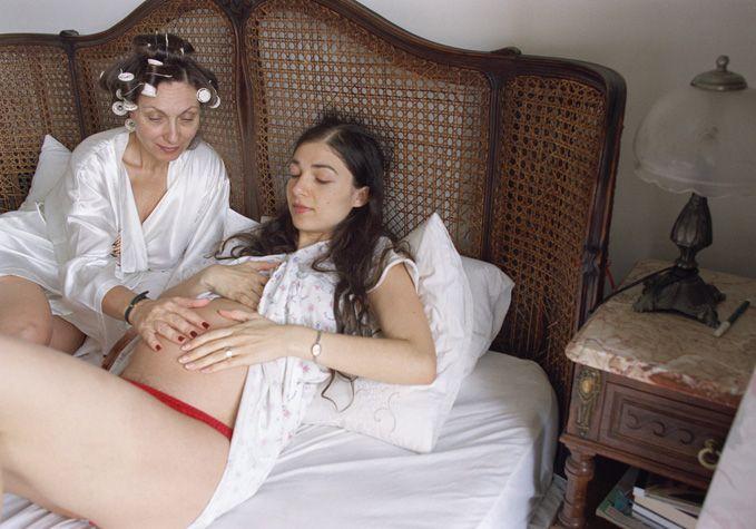 Elinor Carucci, The kick inside, 2004