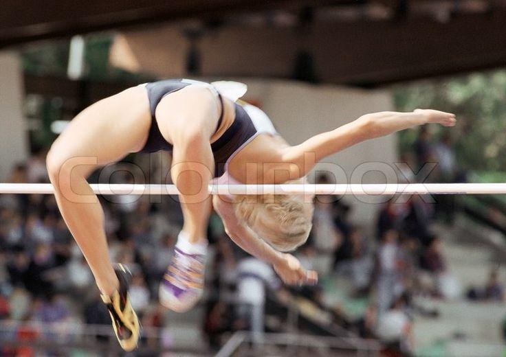 Stock image of 'athlete, sport, jump'