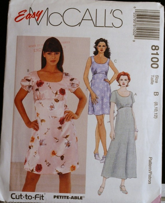 mccalls 8100, .99 at Goodwill: Patterns Mccall, Sewing Patterns