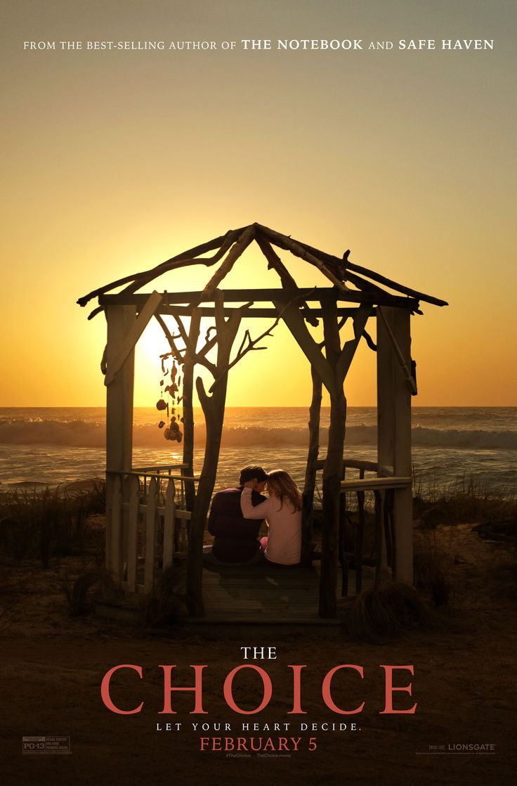Check out the teaser poster for #TheChoice and join me today for a special Q&A at 1pm EST on http://facebook.com/nicholassparks.