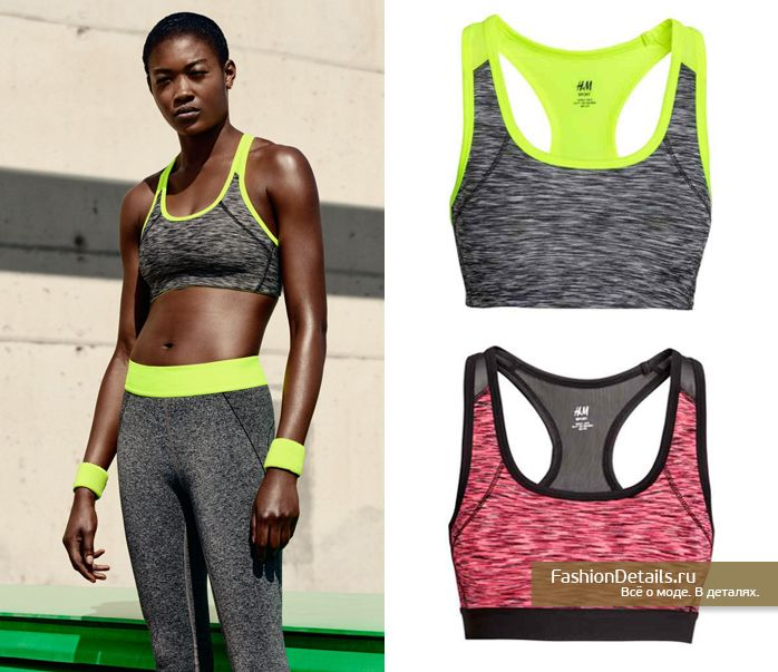 H&M Sport spring-summer 2016 campaign