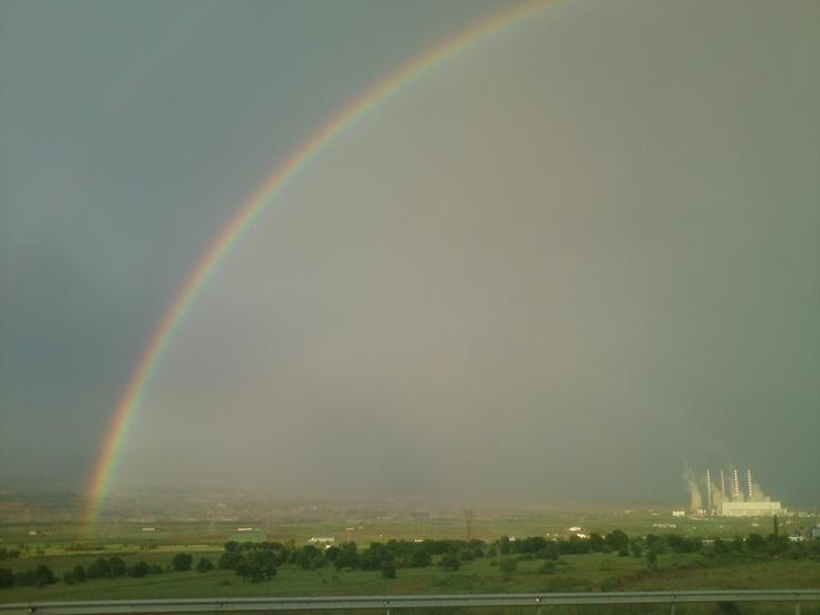 ΟΥΡΑΝΙΟ ΤΟΞΟ-ΠΤΟΛΕΜΑΙΔΑ Rainbow - Greece