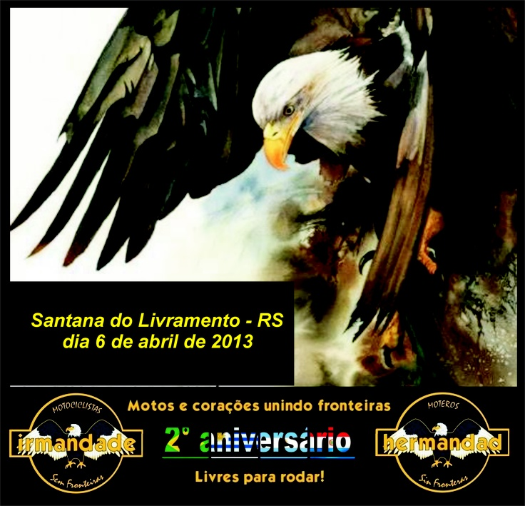 """Estaremos em FESTA em Santana do Livramento """" A Fronteira da Paz """""""