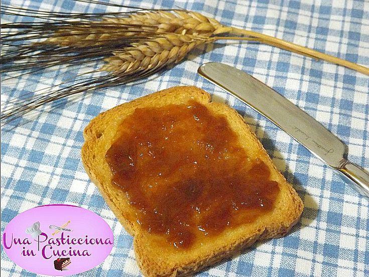 Marmellata di Pesche senza Zucchero | Una Pasticciona in Cucina