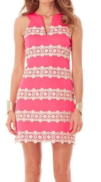 Lilly Pulitzer Augusta Shift Dress www.SocietyOfWomenWhoLoveShoes.org Twitter @ ThePowerofShoes Instagram @SocietyOfWomenWhoLoveShoes