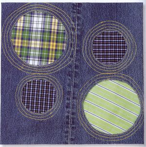 Holes in your clothes block: Jeans Quilts, Reverse Applies, Quilts Inspiration, Quilts Blocks, Free Patterns, Denim Quilts, Denim Ideas, Kids Pants, Old Jeans
