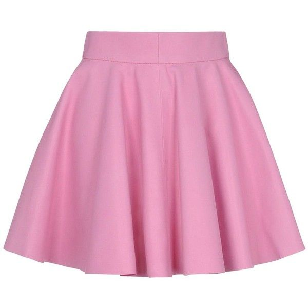 17 best ideas about pink leather skirt on