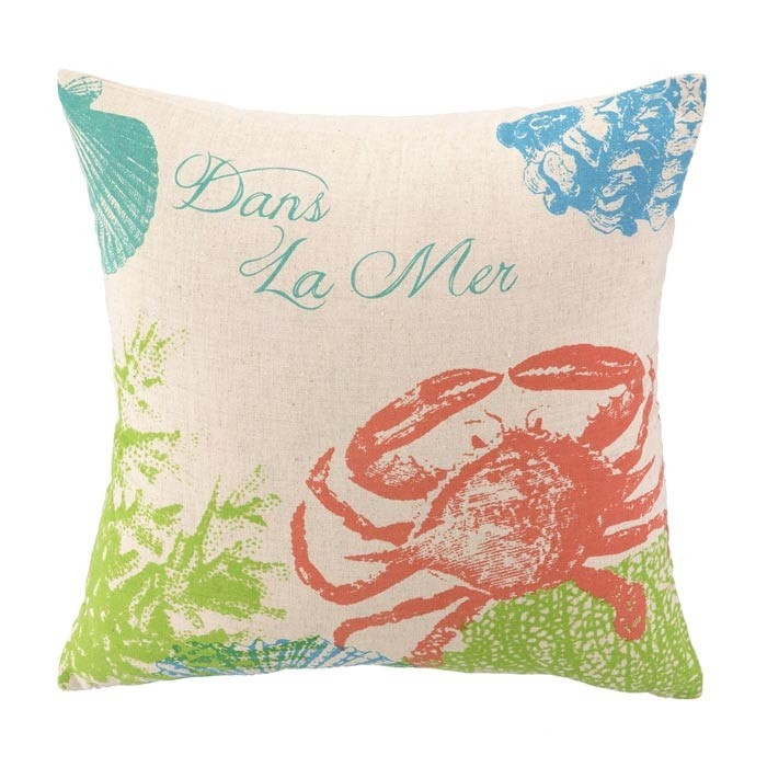 Cute Throw Pillows Pinterest : Dans la Mer Pillow. cute! :) For the Home Pinterest Pillows