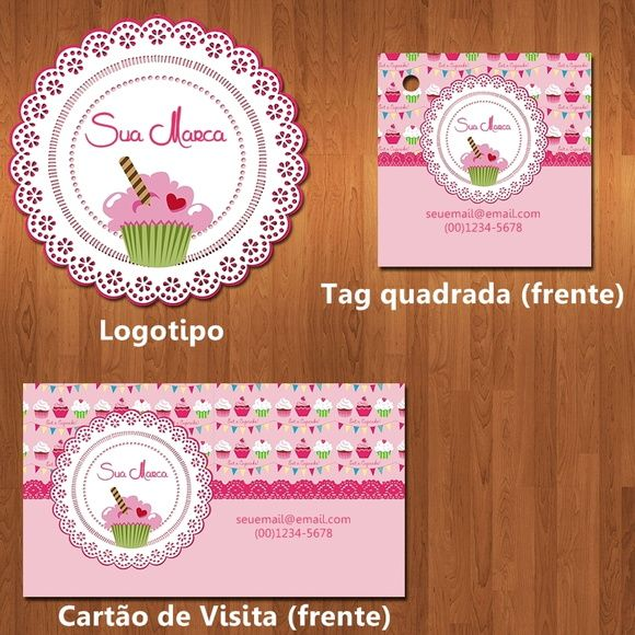 Excepcional 51 best Kits Identidade Visual images on Pinterest ZQ62