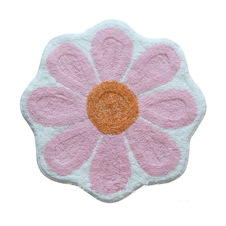 Ustide Sunflower Floral Area Rug For Kids/Girls, Anti-slip Mat Colorful Floor Rug Personalized Custom Carpets Outdoor Mat,Multi,Pink *** Find out more about the great product at the image link. (This is an affiliate link and I receive a commission for the sales)