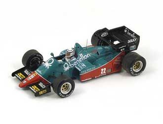 Alfa Romeo 184T No. 22 (Riccardo Patrese - 3rd Italian GP 1959) in Green (1:43 scale by Spark S3871)