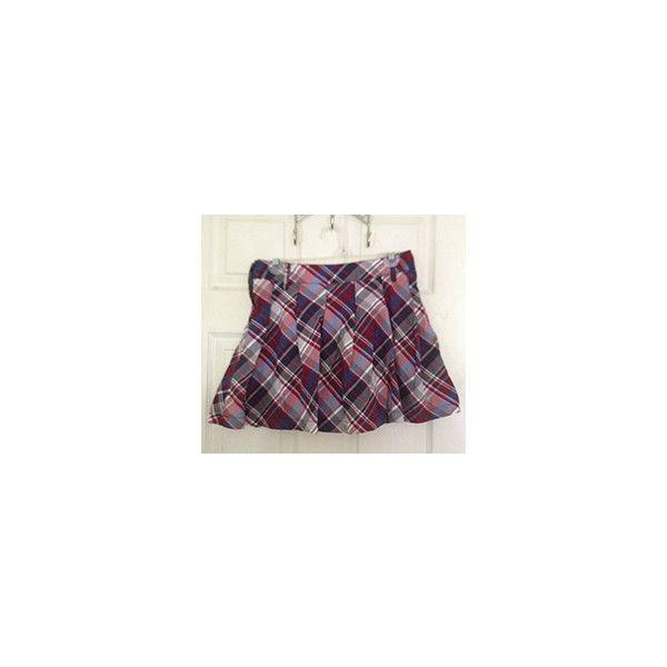 Myself. ❤ liked on Polyvore featuring skirts, ubrania and purple skirt