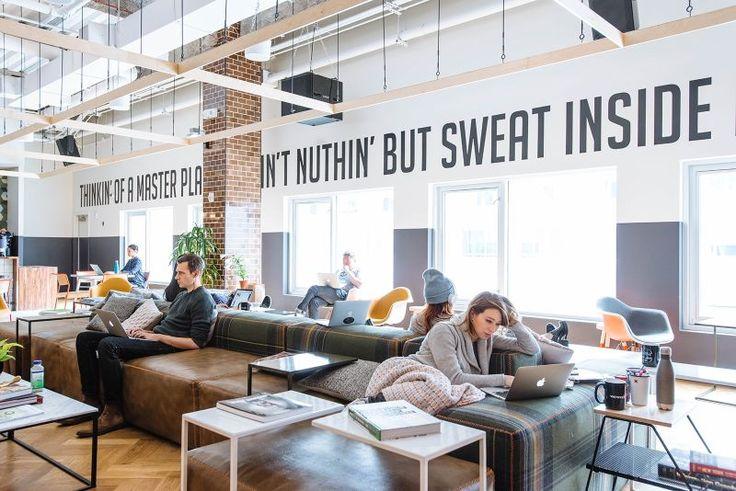 A Look Inside WeWork's Williamsburg Coworking Space