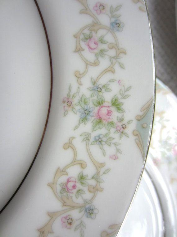 M real rosa Tudor Vintage Yamaka Japón placa de pan y mantequilla