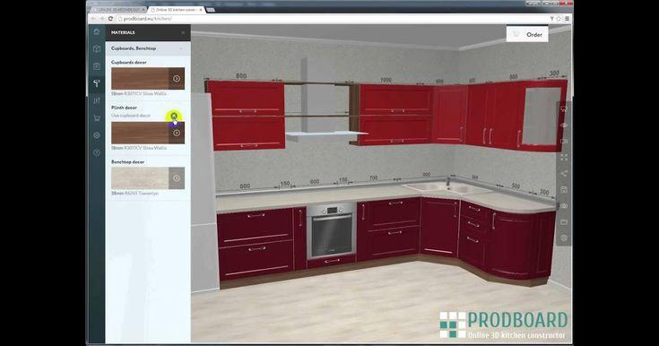 Prodboard Online Kitchen Planner 3d Kitchen Design Planer ...
