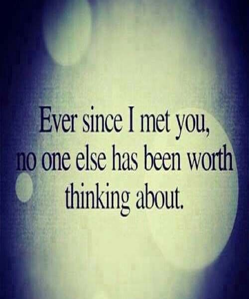 No One Else Has Been Worth-Love Quotes