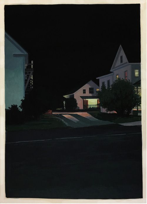 "Christopher Burk, Paintings.Gorgeous, mystery filled ""nocturnes""..."