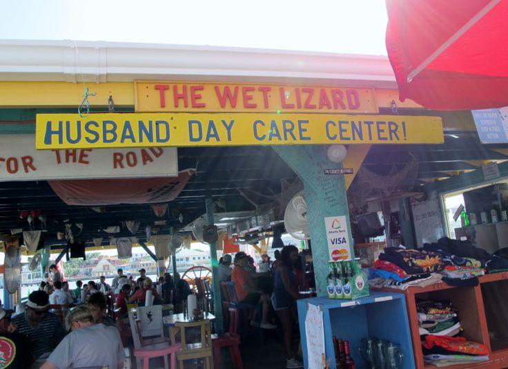 The Wet Lizard Aka Husband Daycare Center Belize City