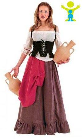 Disfraz de Mesonera Sibila para mujer