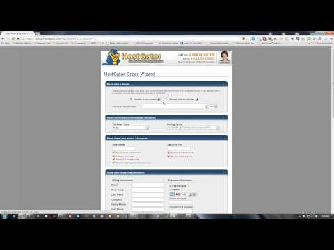 How to purchase web hosting and domain name with HostGator - www.getlifeyoudeserve.com