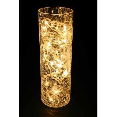 A easy holiday decoration!!! lights in a vase