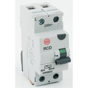 Wylex 80a Residual Current Device Rcd Diy Bq Circuit